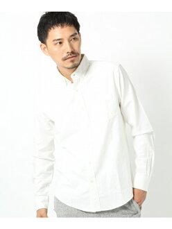 GLOBAL WORK(M)牛津衬衫LS全球化工作衬衫/女衬衣