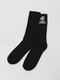 nudie jeans FRANKLIN&MARSHALL/(U)ロゴソックス ヌーディージーンズ / フランクリンアンドマーシャル ファッショングッズ【送料無料】