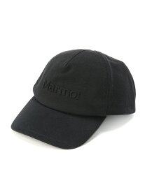 Marmot (U)EMBOSS LOGO CAP マーモット 帽子/ヘア小物 キャップ ブラック グレー ネイビー【送料無料】