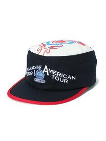 【SALE/20%OFF】VOTE MAKE NEW CLOTHES CLOWN PAINTER CAP ヴォート メイク ニュー クローズ 帽子/ヘア小物 キャップ ネイビー ブラウン ピンク【RBA_E】【送料無料】