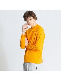 【CEIZER×ABAHOUSE/別注】モックネック刺繍Tシャツ アバハウス カットソー【送料無料】