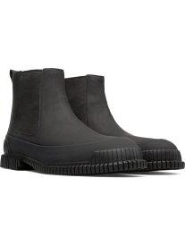 CAMPER [カンペール]PIX/ブーツサイドゴアプレーントゥ カンペール シューズ ロングブーツ ブラック【送料無料】