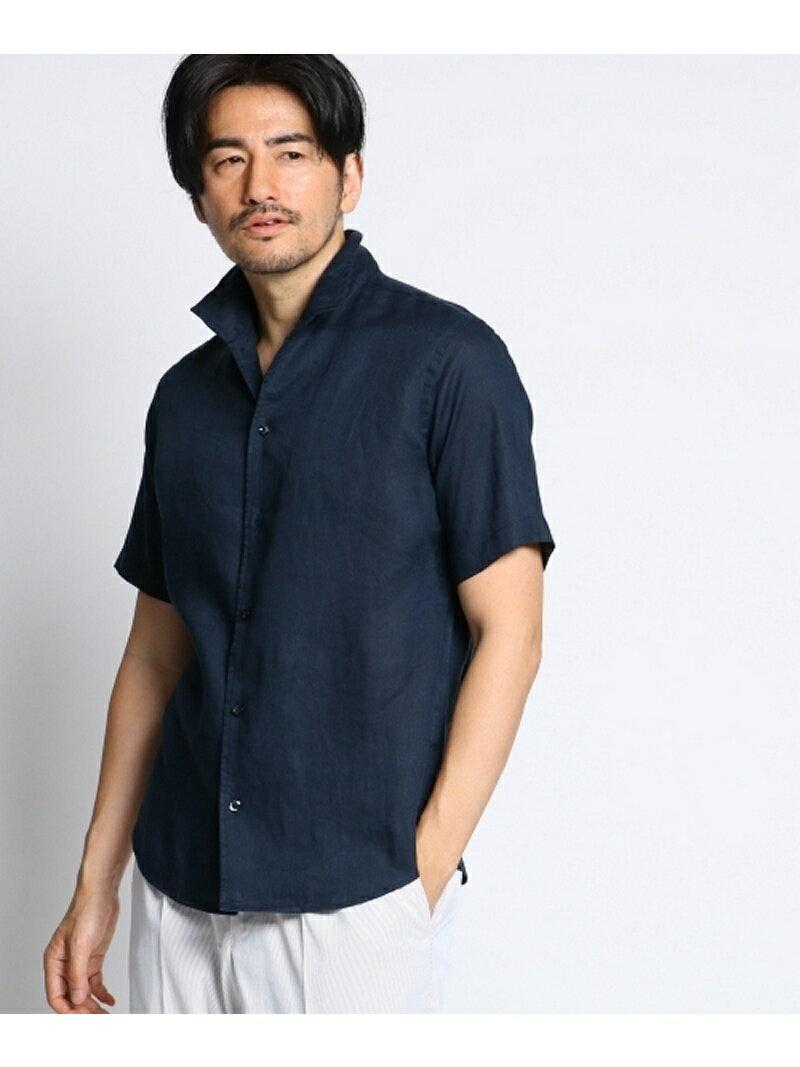 【SALE/10%OFF】TAKEO KIKUCHI カラーリネンシャツ [ メンズ シャツ リネン ] タケオキクチ シャツ/ブラウス【RBA_S】【RBA_E】【送料無料】
