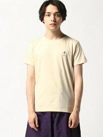 P.D.L P.D.L/(M)ICONIC TEE-SHIRTS ジェネラルデザインストア カットソー Tシャツ ベージュ ブラック オレンジ ブルー イエロー【送料無料】