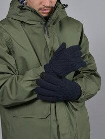 【SALE/30%OFF】SHIPS JET BLUE SHIPSJETBLUE:ケーブルニットグローブ シップス ファッショングッズ 手袋 ネイビー グレー レッド【RBA_E】