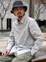BEAMS MEN BEAMS / スプラッシュプリント ミニレギュラーシャツ ビームス メン シャツ/ブラウス 長袖シャツ ホワイト…