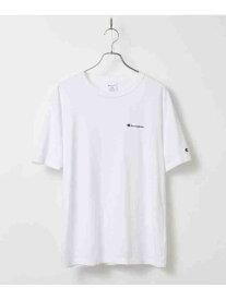 tk.TAKEO KIKUCHI Championfortk.TAKEOKIKUCHIロゴ刺繍Tシャツ ティーケータケオキクチ カットソー