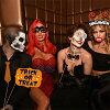 하로윈포트프롭스 대용량 48점 세트 포토 소도구 포토제닉 결혼식 파티 상품2차회 가장 여자회 할로윈 용품 2017 halloween photo props 생일회