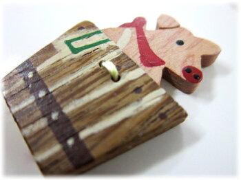 数量限定!!在庫限りの【Trefle】モチーフ木製ボタンおまかせ10点セット