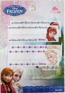 ≪アナと雪の女王≫Disney FROZENアイロン接着タイプのネームラベルです。☆入園入学におすすめです☆(アナ雪/ディズニー/アップリケ/シールワッペン)