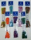 オリンパス 刺し子糸(袋入り)20mミックス 全7色