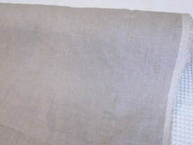 平織のタンブラー加工『広巾リネン生地』/ナチュラルな麻の色合いでお洋服やバッグ、小物、インテリアファブリックなどにも♪生地/布/無地/ベーシック/生成/リネン100%/麻100%/広幅/W巾