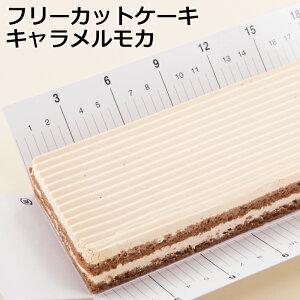 フリーカットケーキキャラメルモカケーキ スイーツ 冷凍 業務用 キャラメル モカ