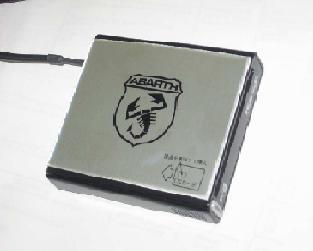 アバルト純正オプション ETC車載器