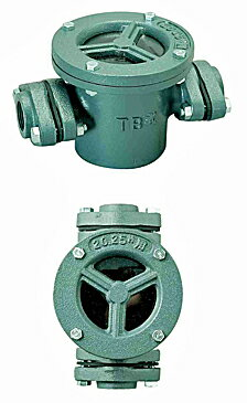 TB式砂取器 (鋳鉄製)TB3736 25A 東邦工業