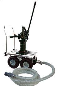 移動用手押しポンプ SY35SCF-IDO 台車・サクションホース付 (ワンゴム・ステンレススリーブ付) 東邦工業【送料無料・代引き不可】