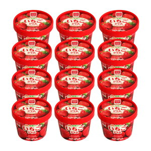 送料無料 【ケース販売】スドージャム 毎朝カップいちごジャム135g 1ケース(12個入り)
