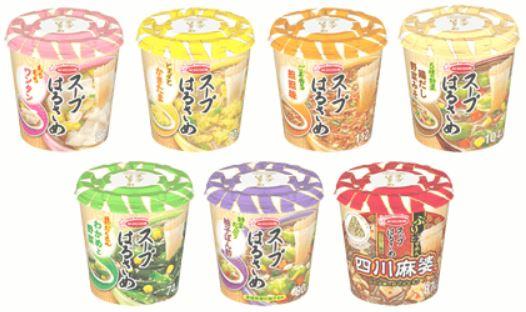 送料無料 エースコック スープはるさめ【24個セット】6個単位で選べる /春雨