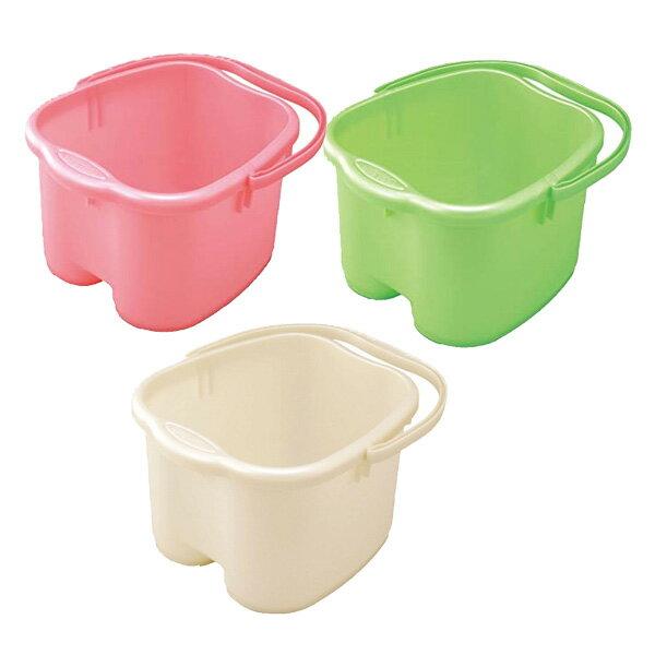 レディース足湯専科 女性用サイズの足湯バケツ3色から選べる 足元の冷え対策