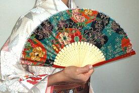 NAOMI ITAYA 扇子と扇子袋セット(赤)