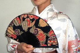 NAOMI ITAYA 扇子と扇子袋セット(黒)