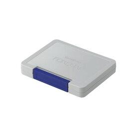 フォアコート スタンプ台 大型藍色(ネイビーブルー)スタンプパッド インクパッド油性染料インキ インク補充可能光沢紙にも強いシャチハタ社製