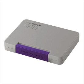シヤチハタTAT (タート) 強着スタンプ台 〈多目的用〉特大形 紫 パープル ATGN-4-V事務用品 ゴム印