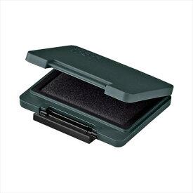 シヤチハタTAT(タート) 強着スタンプ台 〈プラスチック用〉中形 黒 くろ ATPN-2-K事務用品 スタンプ台