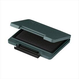 シヤチハタTAT(タート) 強着スタンプ台 〈プラスチック用〉大形 黒 くろ ATPN-3-K事務用品 スタンプ台