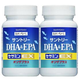 サントリー DHA&EPA セサミンEX DHA EPA セサミン 120粒 2本セット