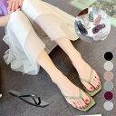 トングサンダル レディース おしゃれ 可愛い 靴 サンダル ビーチサンダル リゾート シューズ 痛くない ブラック ホワ…