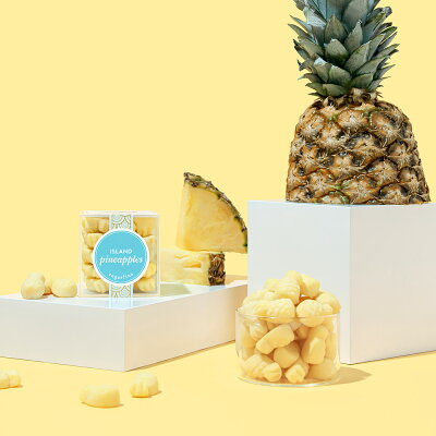 Sugarfina公式パリジャンパイナップルスモールキューブ(小)ParisianPineapples-SmallCubeインスタ映えグミスイーツお菓子おしゃれ可愛いスィーツ高級洋菓子誕生日記念日ご褒美【楽天海外通販】