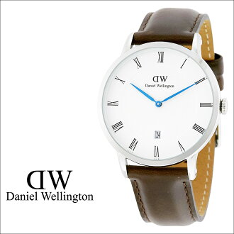 Daniel 惠灵顿 Daniel 惠灵顿男式手表手表手表 38 毫米 1123 DW 小巧玲珑布里斯托尔银 [10/28 新股票]