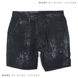 MARC BY MARC JACOBS マークバイマークジェイコブス ハーフパンツ ボトムス メンズ PAINTED CHAMBRAY SHORT M4001028