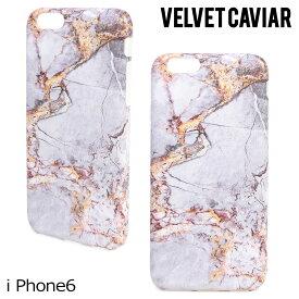 【最大1000円OFFクーポン】 ヴェルヴェット Velvet Caviar キャビア iPhone8 SE 7 6 6s ケース スマホ 携帯 アイフォン アイフォーン ベルベット GREY & GOLD MARBLE iPhone CASE レディース グレー ゴールド 【ネコポス可】