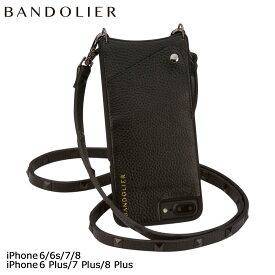バンドリヤー BANDOLIER iPhone SE 8 7 6 6s/Plus ケース スマホ 携帯 アイフォン プラス SARAH レザー スタッズ メンズ レディース