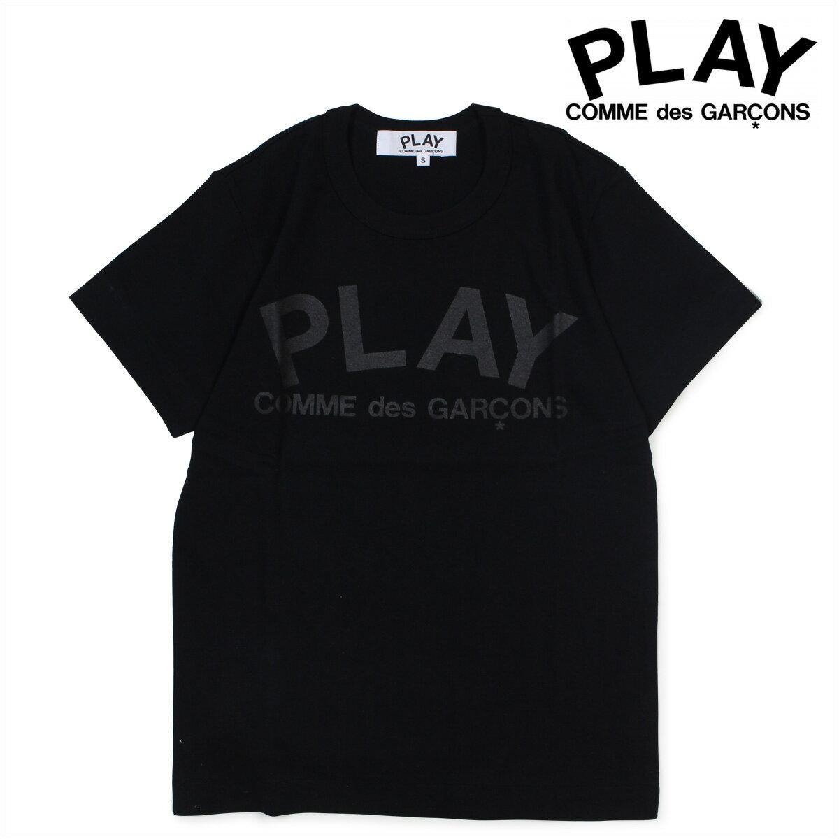 【ポイント最大29倍 お買い物マラソン】 COMME des GARCONS PLAY Tシャツ 半袖 コムデギャルソン レディース PLAY T-SHIRT AZ-T187 ブラック