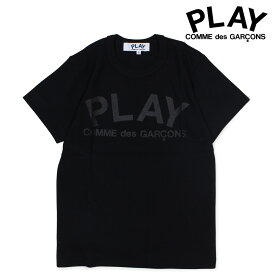 COMME des GARCONS PLAY コムデギャルソン Tシャツ レディース 半袖 PLAY T-SHIRT ブラック 黒 AZ-T187