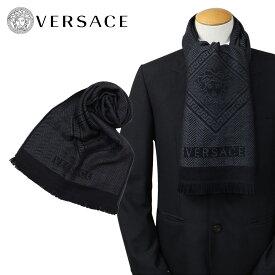 VERSACE マフラー ヴェルサーチ ヴェルサーチ メンズ ウール イタリア製 カジュアル ビジネス 0641
