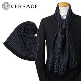 VERSACE マフラー ヴェルサーチ ヴェルサーチ メンズ ウール イタリア製 カジュアル ビジネス 0665