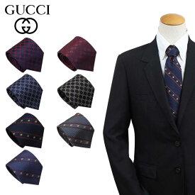 GUCCI グッチ ネクタイ イタリア製 シルク ビジネス 結婚式 TIE メンズ ブランド