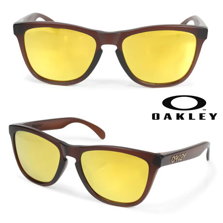 Oakley サングラス アジアンフィット オークリー Frogskins フロッグスキン ASIA FIT メンズ レディース ブラウン OO9245-04 92450454 [3/6 新入荷]