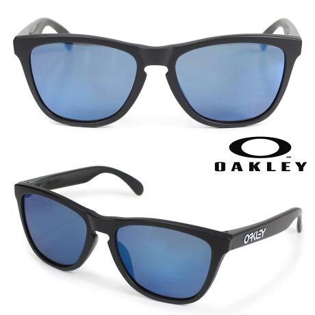 Oakley サングラス アジアンフィット オークリー Frogskins フロッグスキン ASIA FIT メンズ レディース ブラック OO9245-06 [3/6 新入荷]