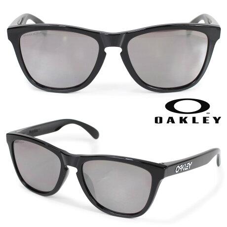 Oakley サングラス アジアンフィット オークリー Frogskins フロッグスキン ASIA FIT メンズ レディース ブラック OO9245-6254 [3/6 新入荷]