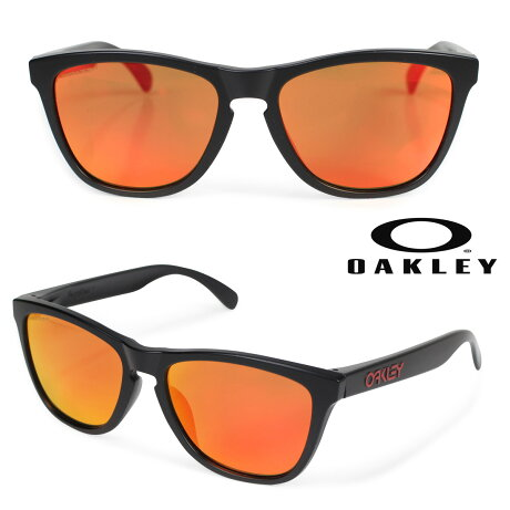 Oakley オークリー サングラス アジアンフィット Frogskins フロッグスキン ASIA FIT メンズ レディース ブラック OO9245-6354 [3/6 新入荷]