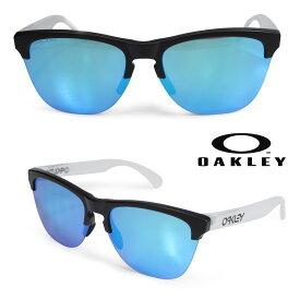 Oakley サングラス オークリー Frogskins lite フロッグスキン ライト US FIT メンズ レディース ブラック 黒 OO9374-02