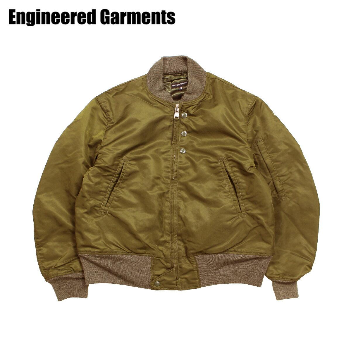 ENGINEERED GARMENTS エンジニアドガーメンツ ジャケット メンズ MA1 フライトジャケット AVIATOR JACKET オリーブ F8D1184