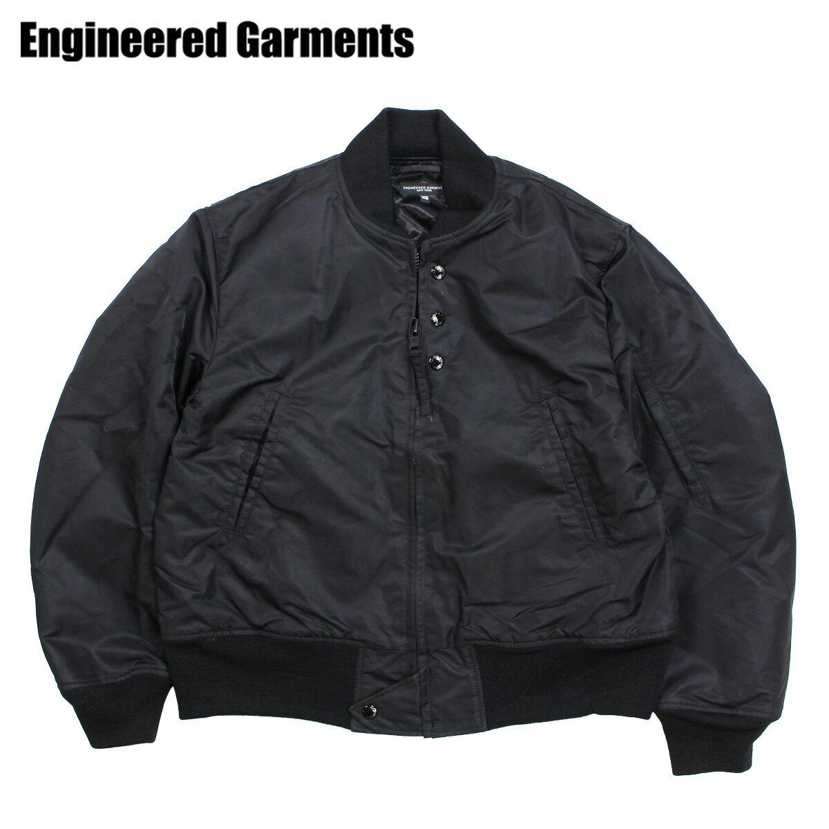 ENGINEERED GARMENTS エンジニアドガーメンツ ジャケット メンズ MA1 フライトジャケット AVIATOR JACKET ブラック 黒 F8D1191