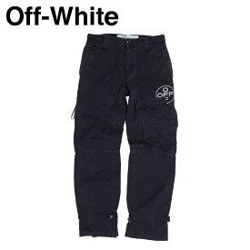 【最大1000円OFFクーポン】 オフホワイト Off-white パンツ メンズ カーゴパンツ TAPERED COTTON CARGO TROUSERS ブラック 黒 OMCG007 515021