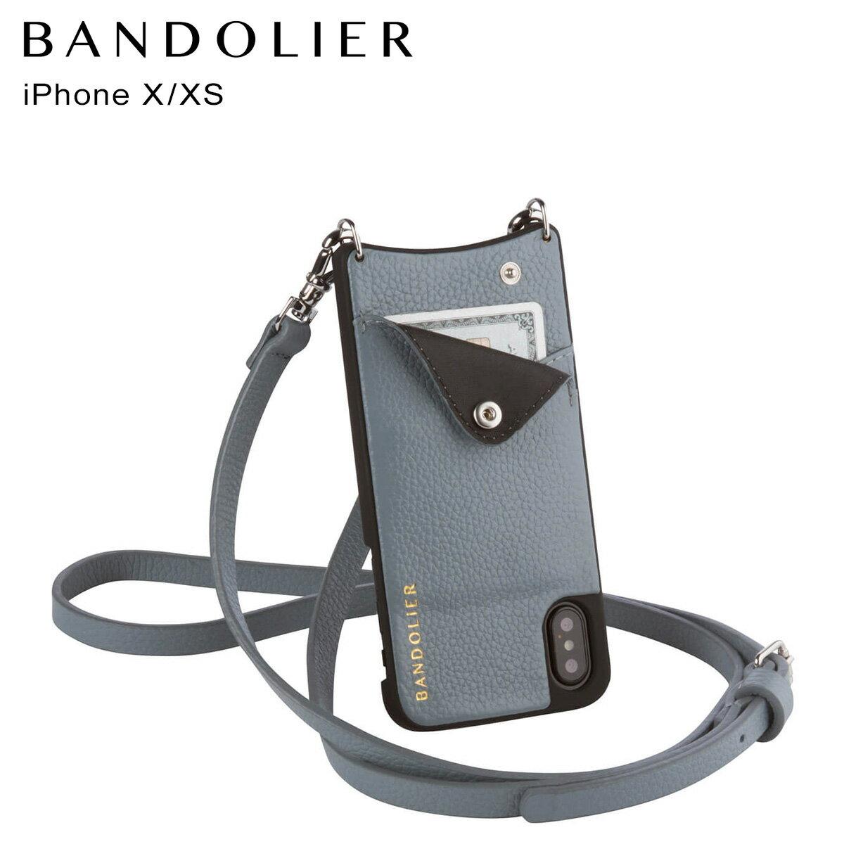 バンドリヤー BANDOLIER iPhoneXS X ケース スマホ アイフォン EMMA STORM メンズ レディース